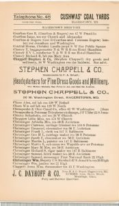 Hagerstown Directory 1893 -Page 31