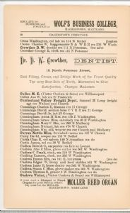 Hagerstown Directory 1893 - Page 36