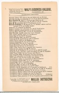Hagerstown Directory 1893 - Page 40