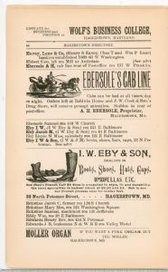Hagerstown Directory 1893 -Page 44
