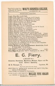 Hagerstown Directory 1893 - Page 48