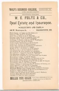 Hagerstown Directory  1893 -Page 50
