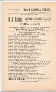 Hagerstown  Directory 1893 -Page 54