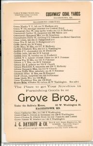 Hagerstown  Directory 1893 -Page 57