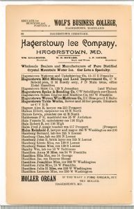 Hagerstown  Directory 1893 -Page 60