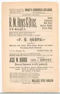 Hagerstown Directory 1893 -Page 64