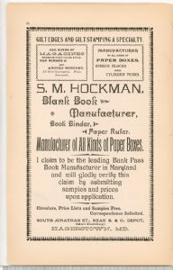 Hagerstown Directory 1893 -Page 68
