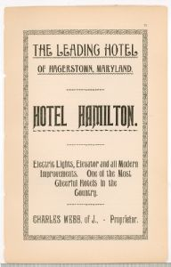 Hagerstown  Directory 1893 -Page 71