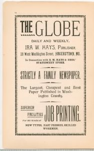 Hagerstown  Directory 1893 -Page 74