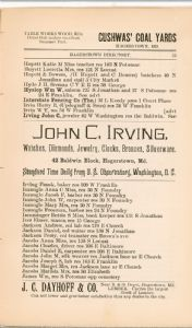 Hagerstown  Directory 1893 -Page 75