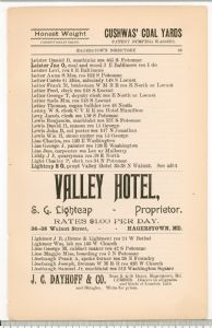 Hagerstown Directory 1893 - Page 83