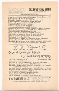 Hagerstown Directory 1893 - page 87