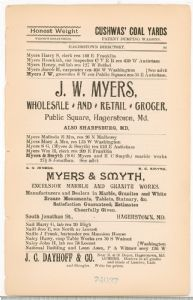 Hagerstown Directory 1893 - Page 99