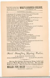 Hagerstown Directory 1893 - Page 104