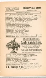 Hagerstown Directory 1893 - Page 109