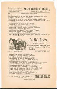 Hagerstown Directory 1893 - Page 112