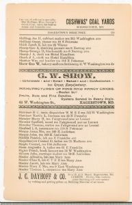 Hagerstown Directory 1893 - Page 119