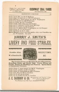 Hagerstown Directory 1893 - Page 121