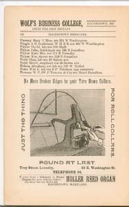 Hagerstown Directory 1893 - Page 132