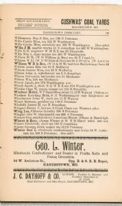 Hagerstown Directory 1893 - Page 139