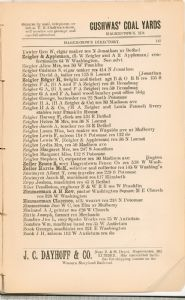 Hagerstown Directory 1893 - Page 143