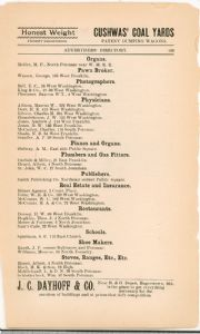 Hagerstown Directory 1893 - Page 149