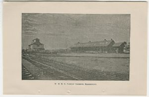 Western Maryland Rail Road terminus, Hagerstown