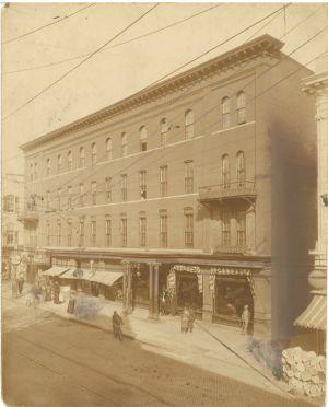 Hagerstown, Baldwin House, West Washington Street, Academy
