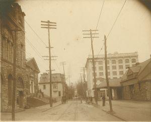 Hagerstown,  Summit Avenue, B & O Railroad Station