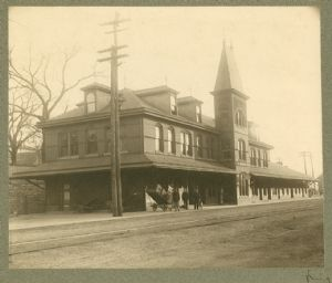 Hagerstown, Norfolk and Western and C.V. Rail Road Station