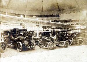 Auto show, Pope Toledo