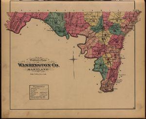 Outline Plan of Washington County, Maryland