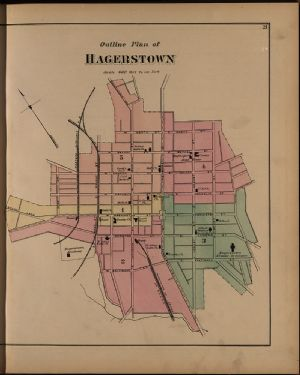 Hagerstown - outline plan