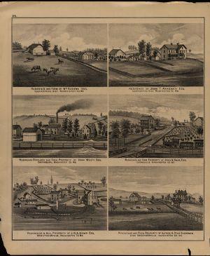 Residences - Cushwa, Ankeney, Welty, Harp, Kemp and Showman.