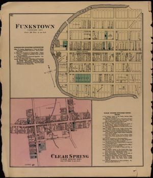 Funkstown and Clear Spring