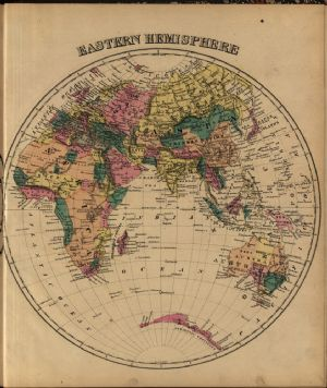 Map of World - Eastern Hemisphere
