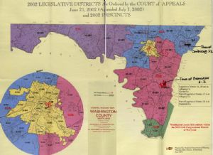 Current election districts Washington County, Maryland