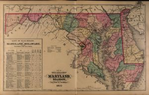Railroads of Maryland, Delaware and D.C.