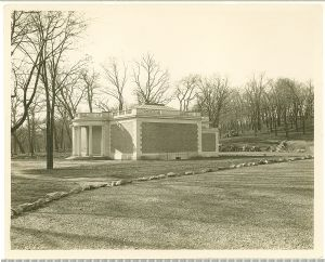 The Washington County Museum of Fine Arts soon after the completion of the building in 1931.