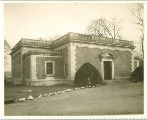 The original entrance to the Washington County Museum of Fine Arts