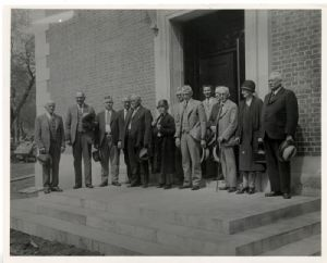 County and Museum Officials, 1931