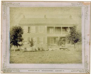 George Shifler home, near Rohrersville