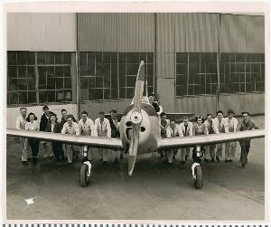 Jennie Nally - Fairchild Aircraft, Hagerstown.