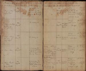 Washington County 1804, Gaol Docket