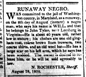 Will - Runaway Negro