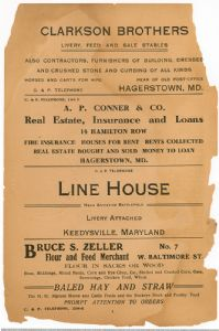 Hagerstown District Telephone Directory of the Chesapeake and Potomac Telephone Company, 1907: Page 4