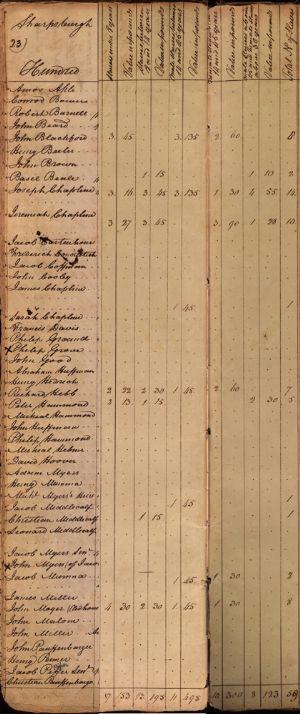 Sharpsburgh Hundred - slaves